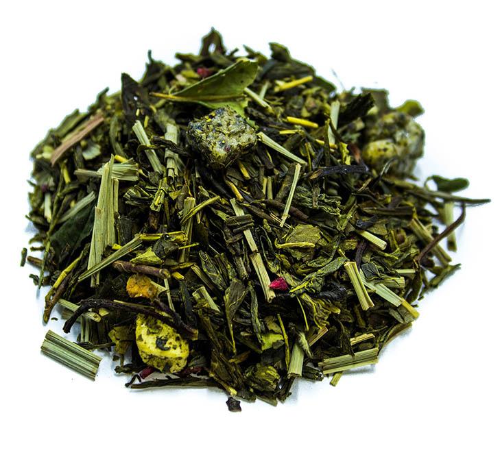 Tè Premium kukicha, melograno e pitahaya